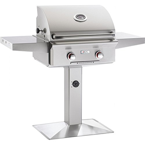 Outdoor Pedestal Grill - 4