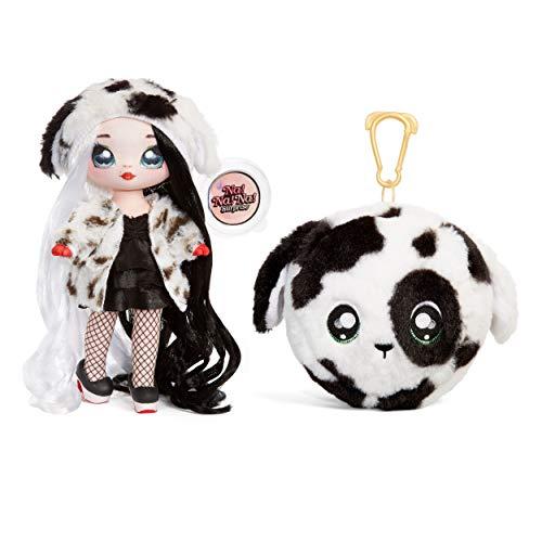 Na! Na! Na! Surprise 2-In-1 Fashion Doll and Plush Purse Muñecas de Moda 2 en 1 Coleccionables Para Niñas-Dottie Demil…