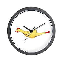 CafePress - Rubber Chicken - Unique Decorative 10 Wall Clock