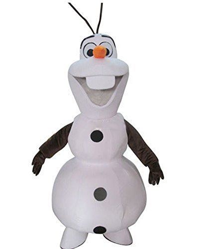 Lightweight Frozen Olaf Mascot Costume for Adult