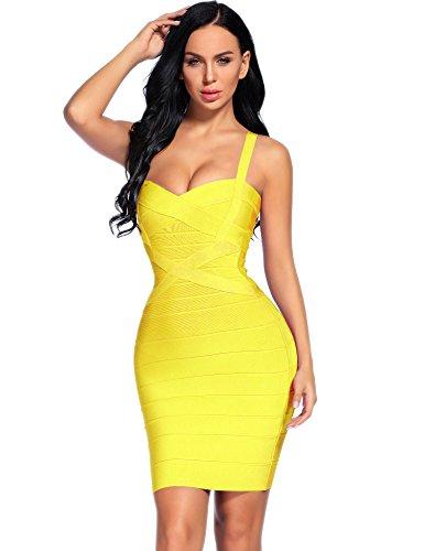 celeb yellow dress - 2