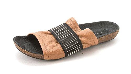 Steve Madden , Sandales pour femme Cognac Leather
