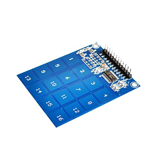 ARCELI TTP229 16-Way Digital Touch Sensor Module Channel Capacitive Touch Switch PCB Board