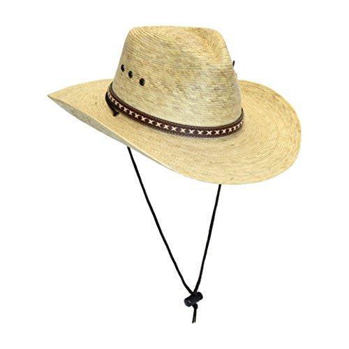 mens-natural-straw-gambler-panama-sun-hat-w-leatherette-band-and-chin-strap