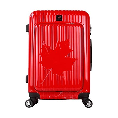 Nuofake Luggage Spinner Brand Travel Suitcase Business Luggage Series 20 Inch Size Maple Leafs PC Rolling Our suitcases…