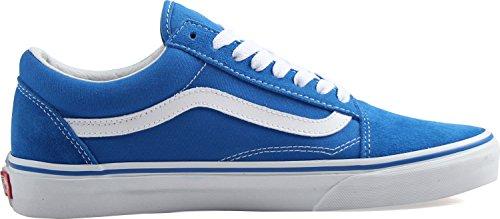 adultos deporte zapatillas blanco unisex imperial de Old Furgonetas verdadero Azul gamuza bajas para Skool lona xA8pCqH