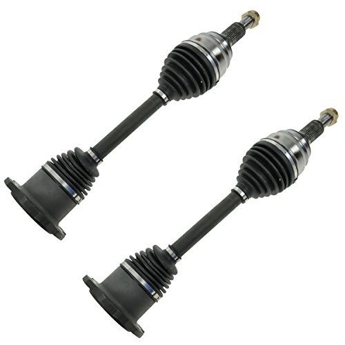 Front CV Axle Shaft Pair Set of 2 for Silverado Tahoe Suburban Yukon - Shaft Half
