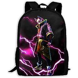 GREATIBAG Fortni Graphic School Backpack Durable Lightweight Large Space Waterproof Daypacks Student Adult