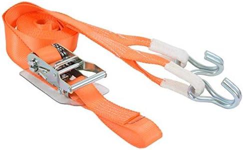 ラッシングベルト 35mm幅 IJフック ×5m 固定側 0.5m