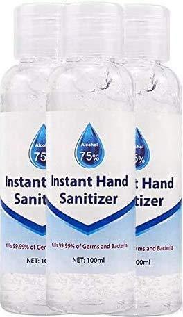 3 x 100 ml Instant Hand Sanitiser – 75% Alcohol