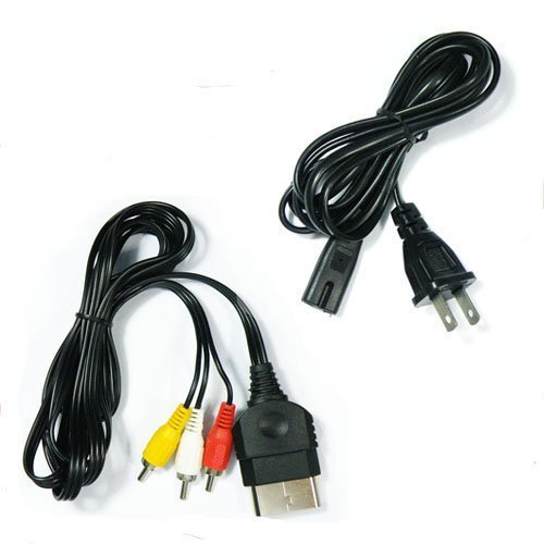 xbox 360 av cable and power cord - 9