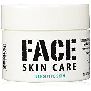 Ultimate Comfort Shaving Cream for Sensitive Skin, Lab Series Alternative, 8 Oz Jar