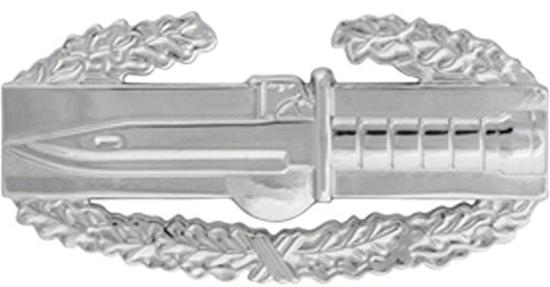 CAB COMBAT ACTION BADGE Metal Insignia - NON SUBDUED - Full Size