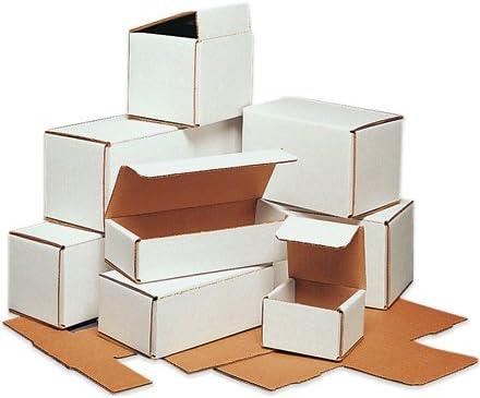 """ボックスパートナーCorrugated Mailers、4 """" x 3 """" x 3 """" – あたり50各バンドル( m433 )"""