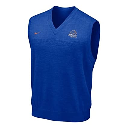 86ab7bed834a Amazon.com   Nike Boise State Broncos Football Sweater Vest   Sports ...