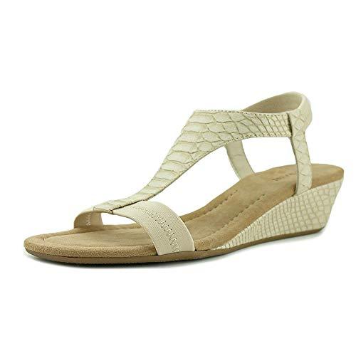 (Alfani Womens Vacanzaa Open Toe Casual Platform Sandals, Pale, Size 8.0)