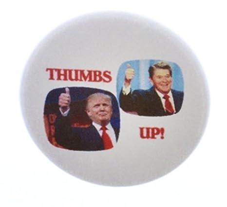 Thumbs Up. Donald Trump Ronald Reagan 2,25 abrebotellas w ...