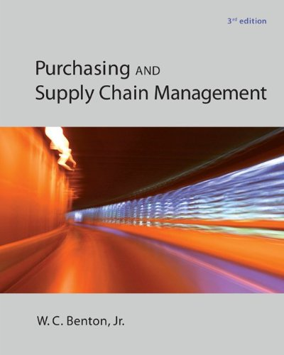 - Purchasing and Supply Chain Management (The Mcgraw-hill/Irwin Series in Operations and Decision)