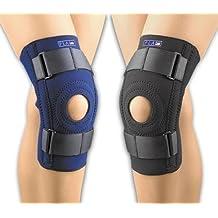 FLA Neoprene Patella Stabilizer Knee Brace (XXXLarge - Black) by FLA Orthopedic Braces