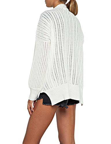 White Replay Cardigan Replay Cardigan Donna qIOC7wUw1x