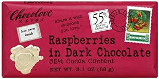 product image for Chocolove Dark Choc/RspBerry (12x3. 1OZ )
