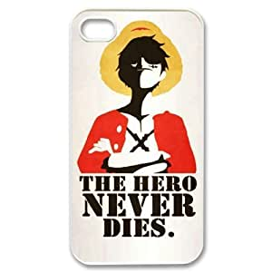 C-EUR One Piece 2 Phone Case For Iphone 4/4s [Pattern-1]