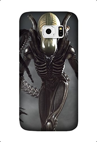 Ultra Thin Color TPU Alien Movie Soft Cover For Samsung Galaxy S6 Edge Design By [Susan Williams]
