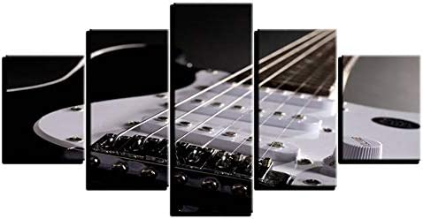 IBIZHI Cuadro de Pared Moderno Lienzo para Pintar Guitarra ...