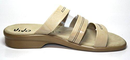 Solidus - Pantuflas Mujer Beige - Beige (Caramel)