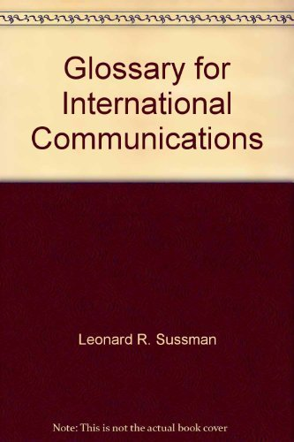 Glossary for international communications (Communications in a changing world)
