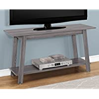 Monarch Specialties I 2737 TV Stand-42 L, Grey
