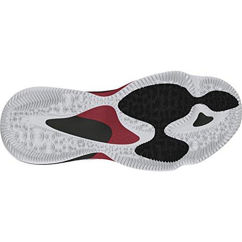 adidas Crazy Heat J, Zapatillas de Deporte Unisex Niños Blanco (Ftwbla / Escarl / Negbas)