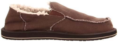 Sanuk Men's Vagabond Chill Slip-On Chocolate discount footaction get authentic cheap price clearance many kinds of discount good selling YwIc82