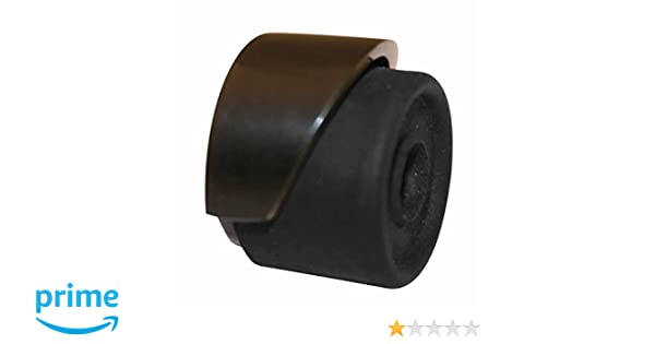 Amazon.com: Door Stops Black Over Brass, Door Bumper Black floor/wall mount 1 1/2in. dia.: Home & Kitchen
