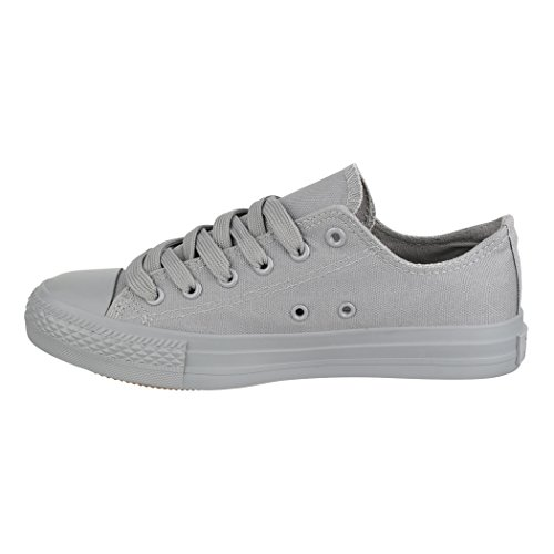 Low De Femmes Grey Chaussures Elara Baskets Lacets Basic New All Loisirs Sport wOSqqXCEx
