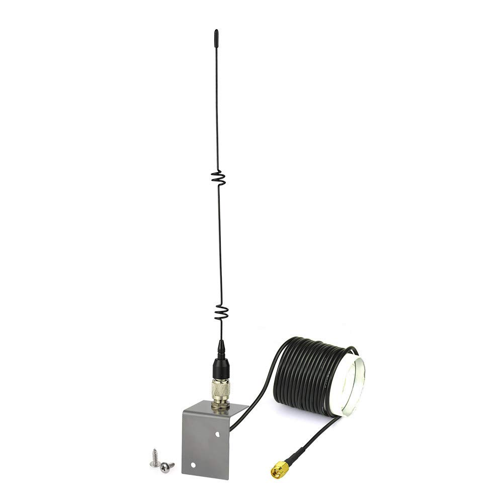 Eightwood 868mhz-4G Antenne 4G LTE Antenna 868 MHz TS9 7dbi TS9 Adaptateur Signal Booster avec 3m RG174 Cable pour CCU2 CC1101 Fibaro Systeme TP Lien Dlink Belkin Huawei