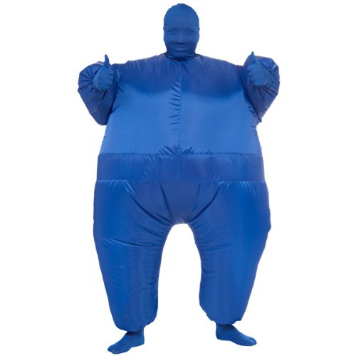 [Morphsuits Mega Morph, Blue, One Size] (Mega Morph Suits)
