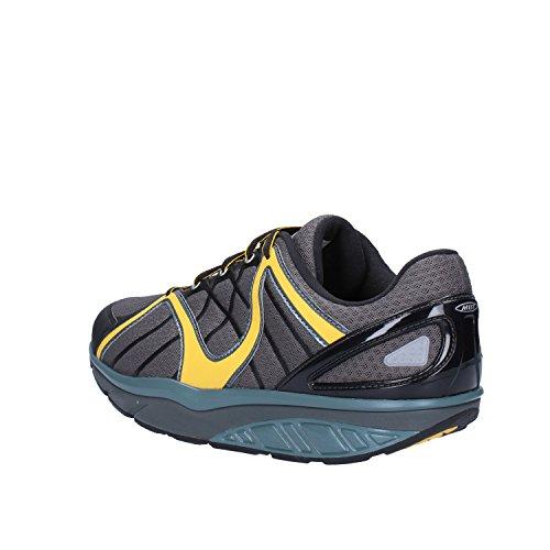 MBT Sneakers Hombre 42 EU Gris Amarillo Textil