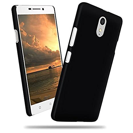 on sale 98ff4 b4bc5 Johra Rubberised Black Back Cover for Lenovo Vibe P1: Amazon.in ...