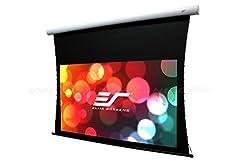 Elite Screens Cinetension B Series 150 Diagonal 16 9 Tab Tensioned Electric Drop Down Front Projector Screen Te150hw2b E24