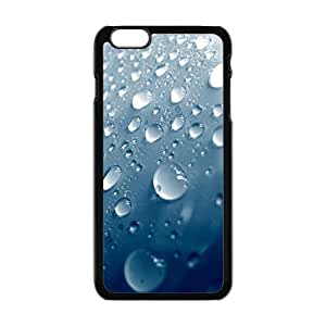 Personalized Creative Cell Phone Case For iPhone 6 Plus,water drops with blue background