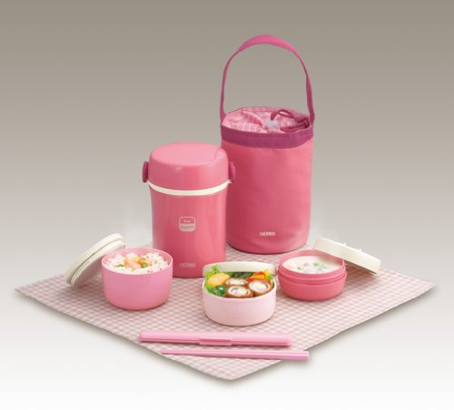 Thermos Hot Lunch Box Pink