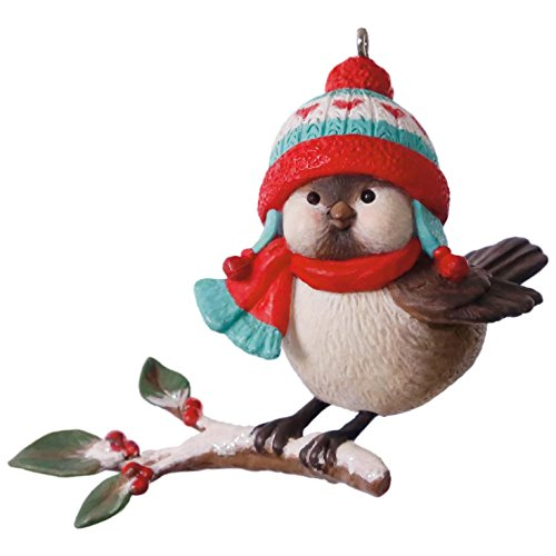 Hallmark Keepsake 2017 Cozy Critters Christmas Ornament