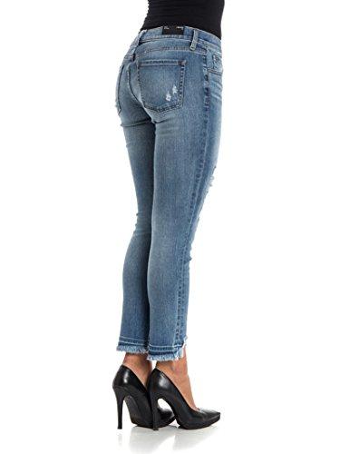 J Brand Jeans Donna JB000624CT152PRJ45901 Cotone Azzurro