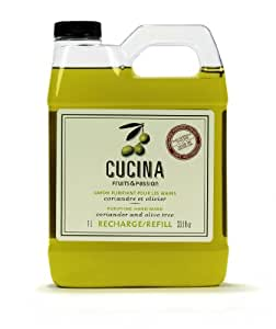 Amazon.com: Cucina Coriander and Olive Tree 33.8 oz Purifying Hand
