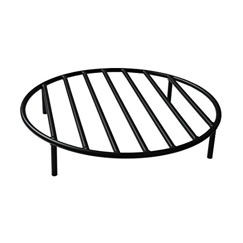 Pit Grate with 4 Legs for Outdoor Campfire Grill Cooking, 24 Inch ()