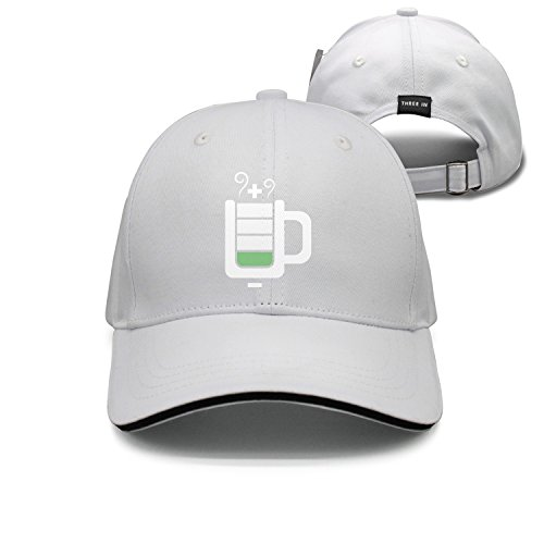jrw5dfg498p Cap Battery Symbol Plus + Charge Drink Unisex Cap Cute Stylish Casual Simple Funny Personality Fashion Travel Essential