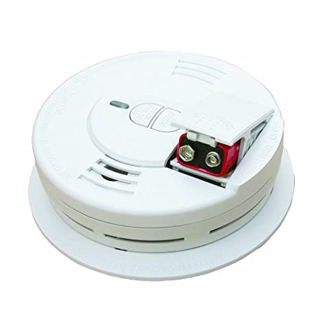 Kidde 0976 - 2 Front Load Battery-Operated Ionization Sensor Smoke Alarm, 2-Pack - Photoelectric Ionization Smoke Detectors