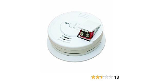 Fire Smoke Alarm Detector Safety Battery Operated Ionization Sensor NEW 6 Pack