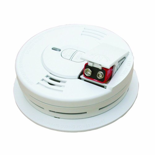 Kidde 0976 - 2 Front Load Battery-Operated Ionization Sensor Smoke Alarm, 2-Pack by Kidde